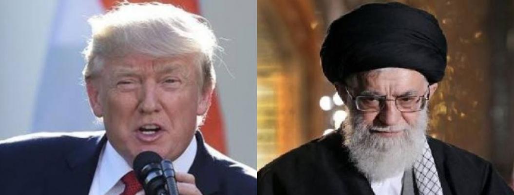 Trump intercambia insultos con ayatolá iraní