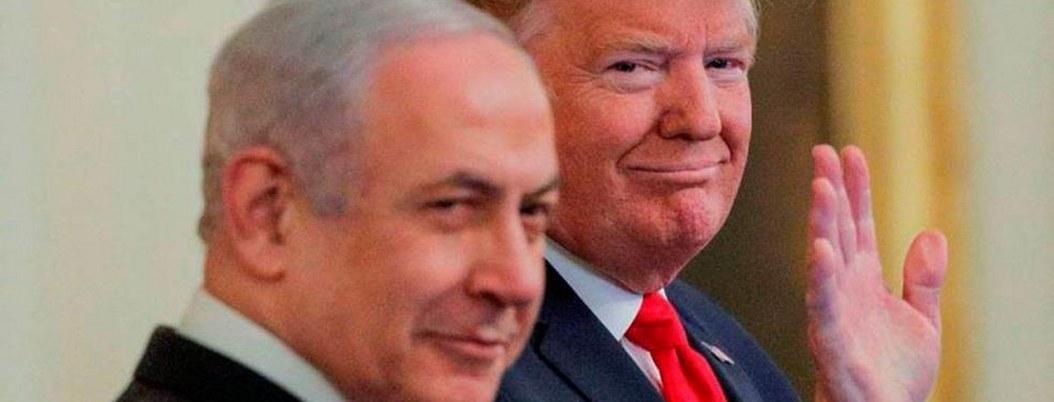 Trump anuncia propuesta de paz entre Israel y Palestina
