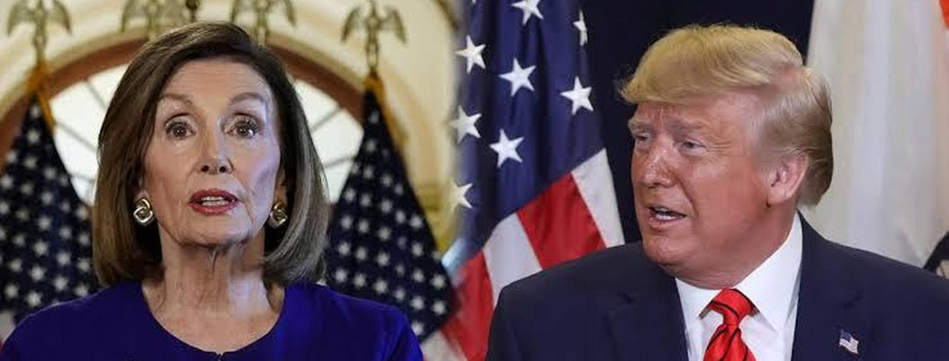 """Trump acusa de """"acoso presidencial"""" a la demócrata Nancy Pelosi"""