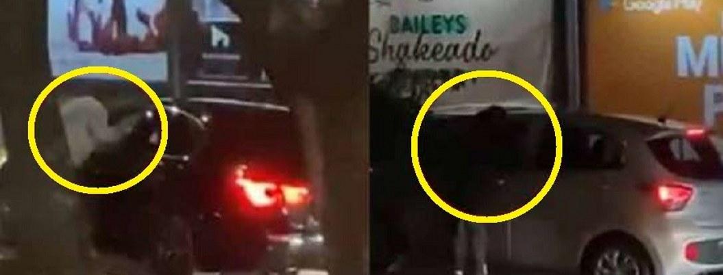 Difunden video asalto múltiple a automovilistas de la CDMX