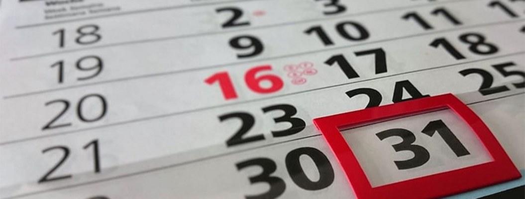 Calendario de días festivos y puentes para este 2020