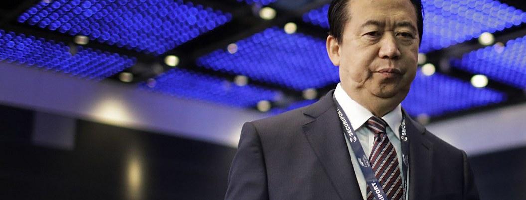 China condena a 13 años a expresidente de Interpol por corrupción