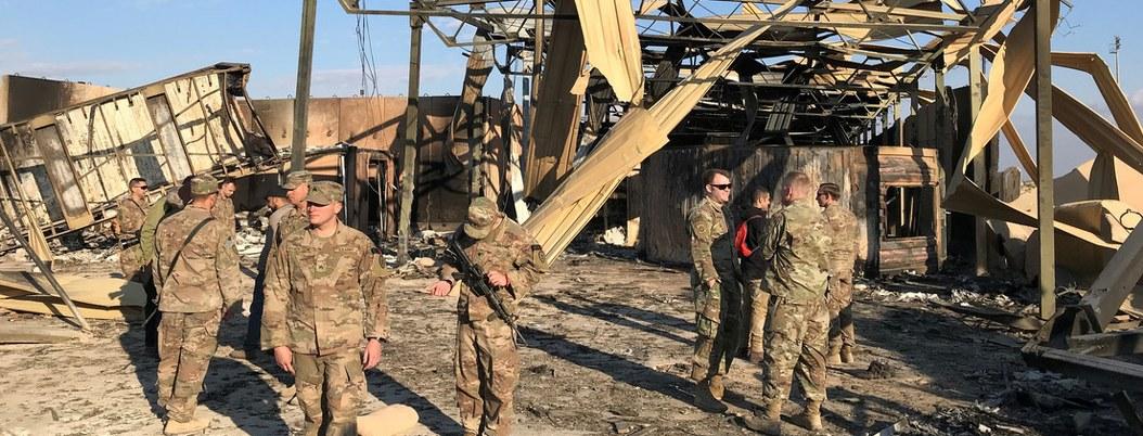 Hubo 11 heridos en ataque de Irán a base iraquí
