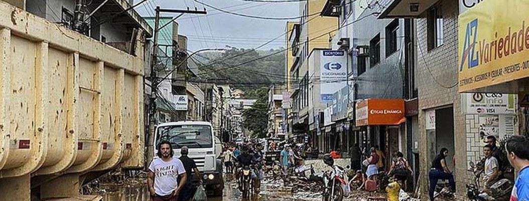 Lluvias en Brasil matan a 38 personas