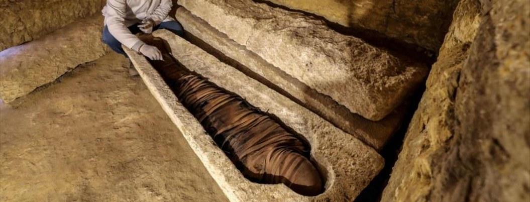 Hallan nuevo tesoro en Egipto: tumbas y momias de sacerdotes
