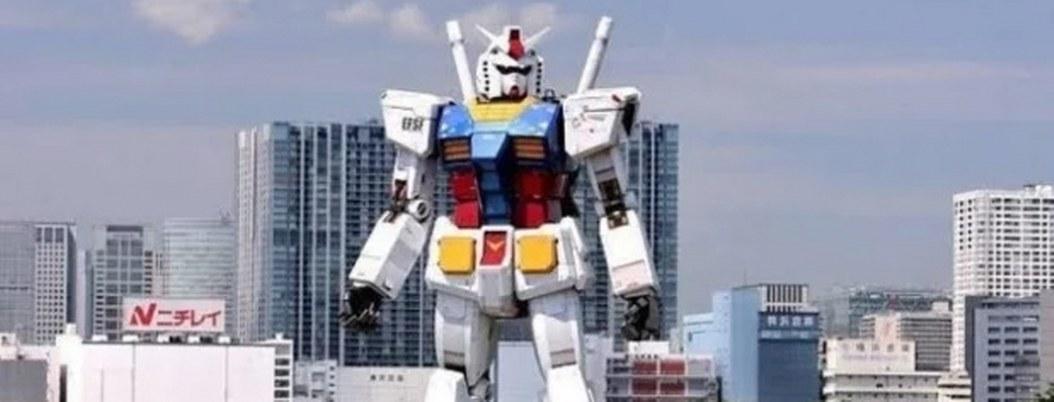 Robot gigante paseará por las calles de Tokio durante Olímpicos