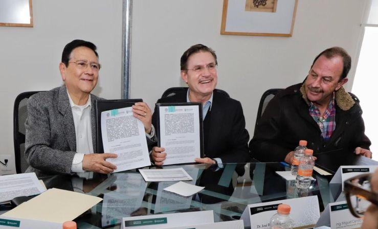 Segalmex y gobierno estatal construirán planta lechera en Durango 1