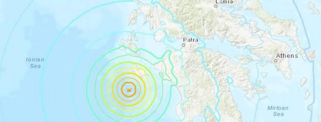 Sismo de 5.3 sacudió el sureste de Grecia