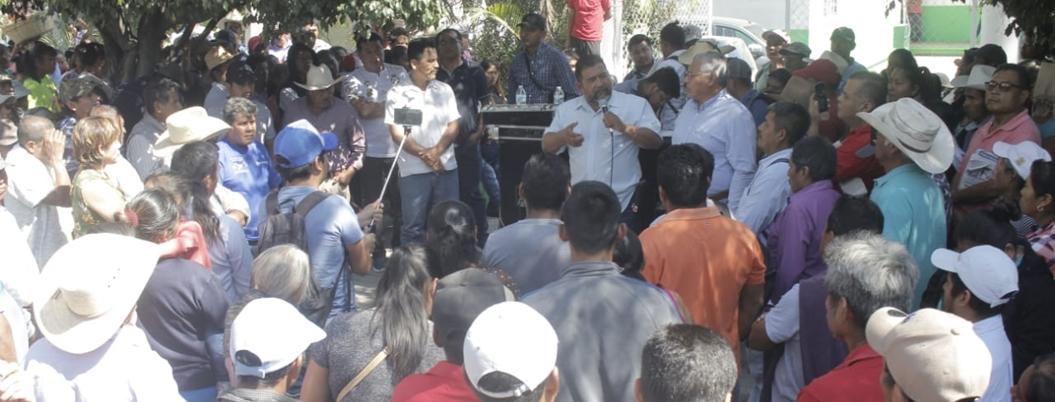 Antorcha Campesina insinúa que se retrasará entrega de fertilizante