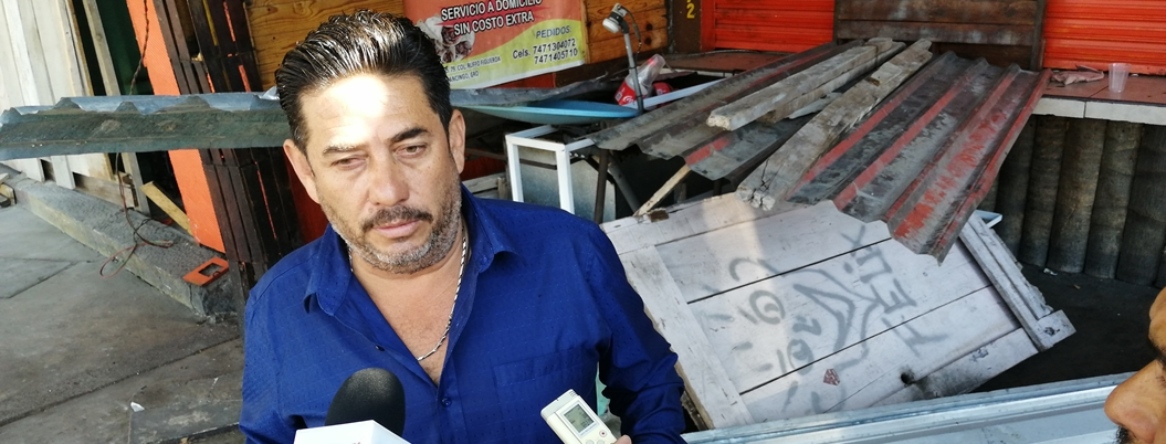 Comerciantes denuncian desalojo ilegal en Chilpancingo