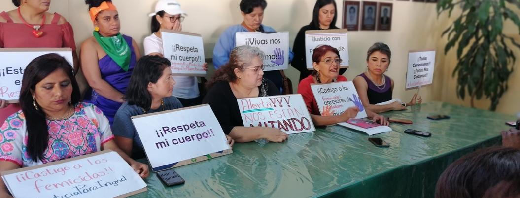 Asociación registra 16 presuntos feminicidios este año en Guerrero