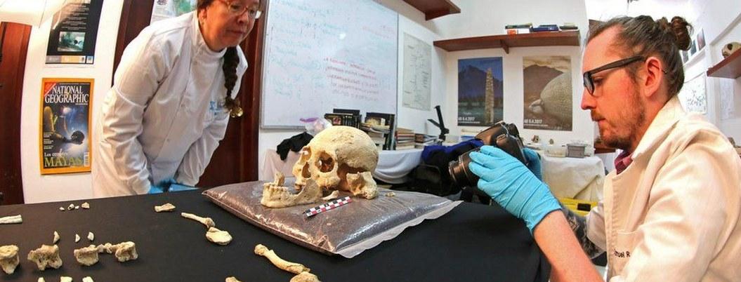 Descubren esqueleto de mujer de la Edad de Hielo en Yucatán