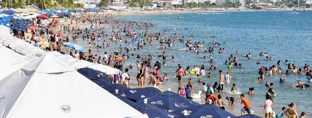 Acapulqueños estiman que fin de megapuentes no afectará turismo