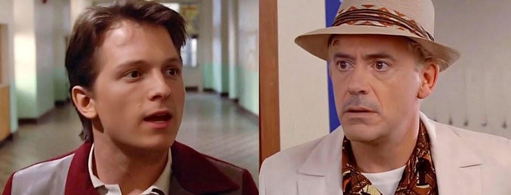 """Downey y Holland protagonizarían remake de """"Volver al futuro"""""""