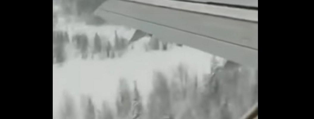 VIDEO  pasajero capta momento de aterrizaje forzoso