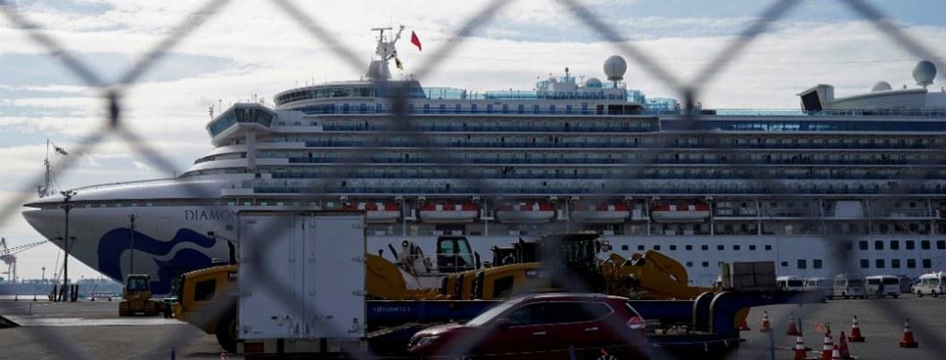 Crucero japones reporta otras 39 personas contagiadas con Covid-19
