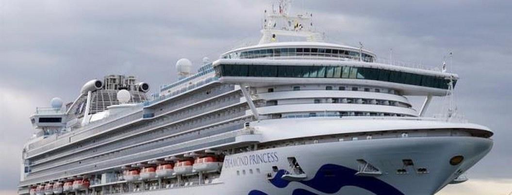Confirman 41 casos más de infectados en crucero atracado en Japón