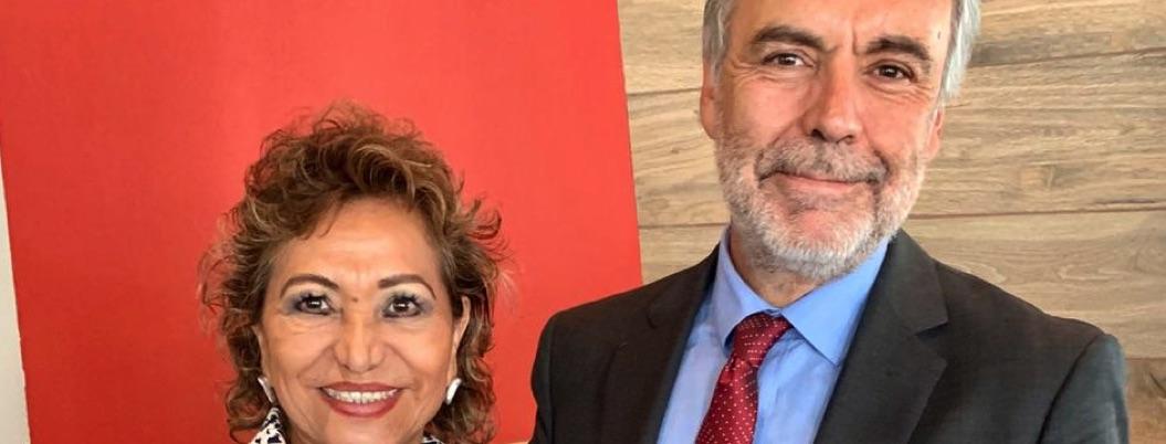 Presidente de Morena reconoce labor y compromiso de Adela Román