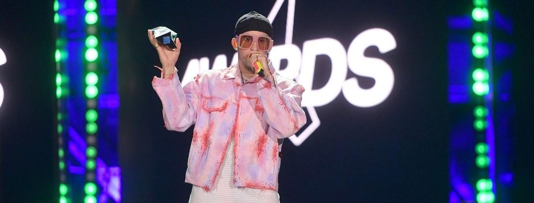 Bad Bunny se coronó como artista del año de los Spotify Awards