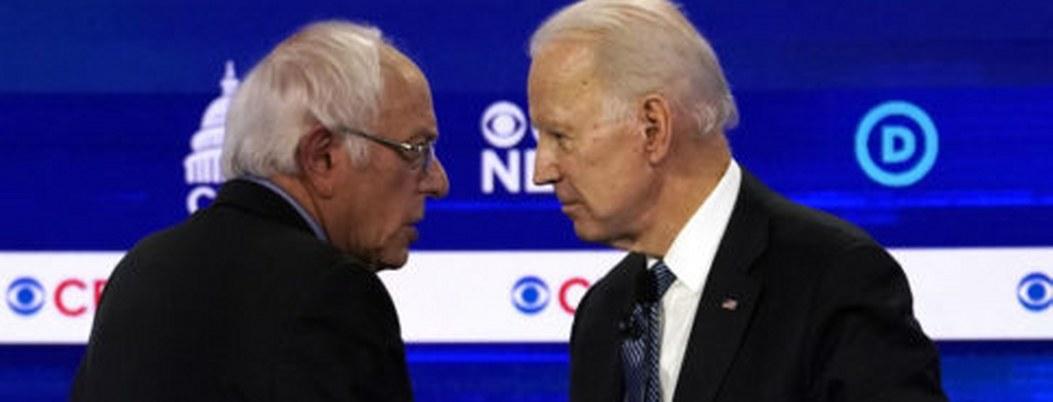 """Biden y Sanders pelean respaldo demócrata en el """"Súper martes"""""""