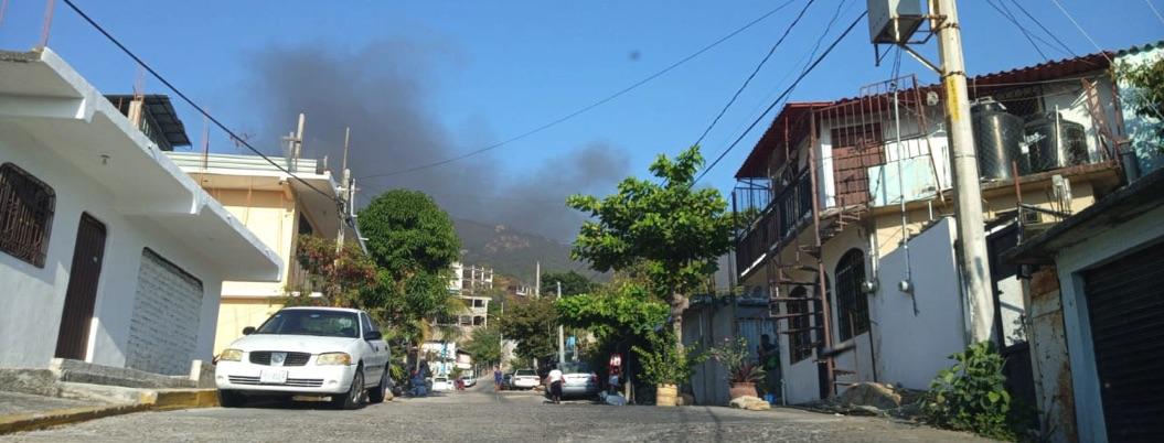 Se incendian dos casas habitación en Acapulco