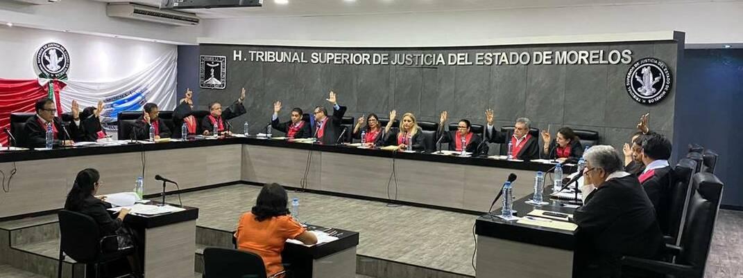 TSJ Morelos suspende labores por Covid-19