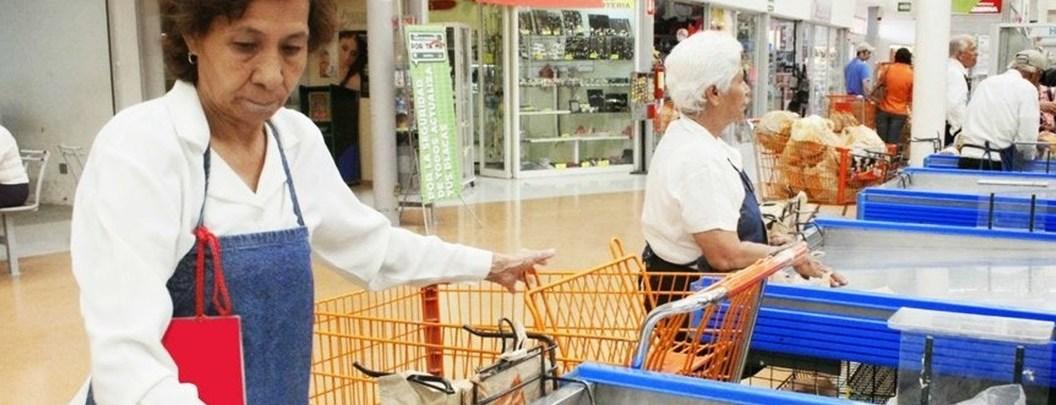 Empacadores de la tercera edad recibirán mil pesos semanales