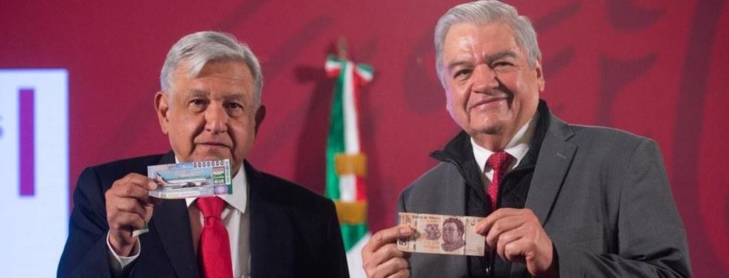 Vendidos 1,500 'cachitos' del sorteo del avión presidencial: AMLO