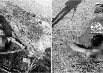 Asesinan a 2 hombres con tiro de gracia en el Coacoyul, Zihuatanejo 3