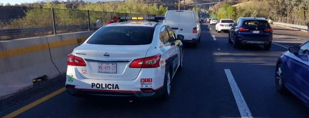 Balean a policía bancaria de la CDMX, hay 2 heridos