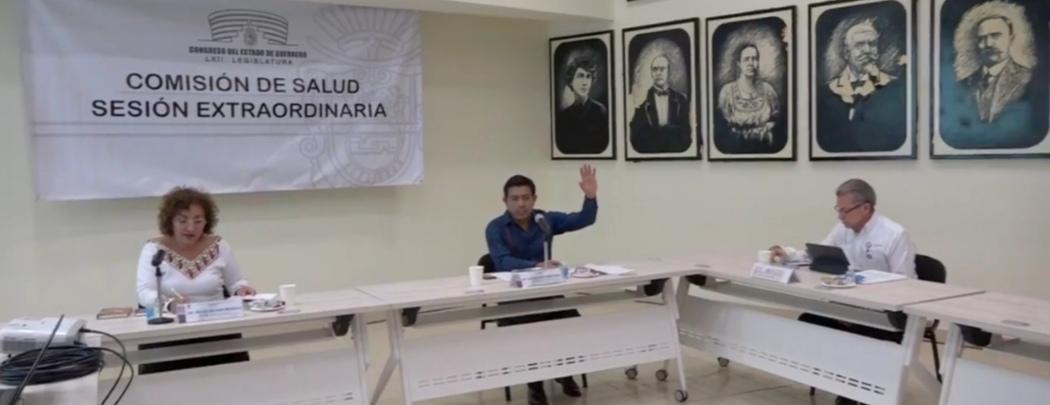 Diputados y SSA Guerrero se reúnen por primera vez por Covid-19