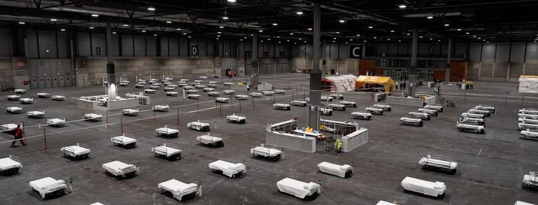 Madrid instala hospital de campaña con más de 5 mil camas