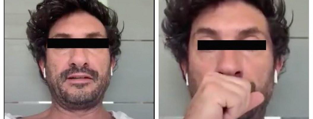 #LordNeumonía: hombre finge estar enfermo de coronavirus  VIDEO