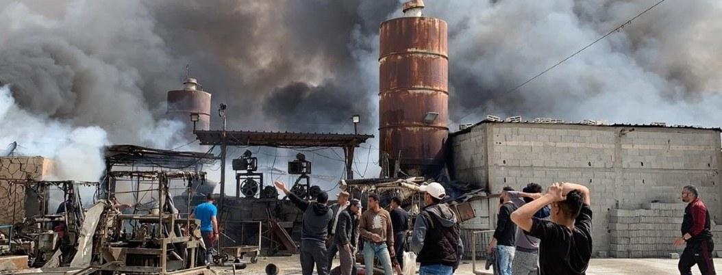 Incendio en mercado de Gaza mata a 6 niños y 2 mujeres