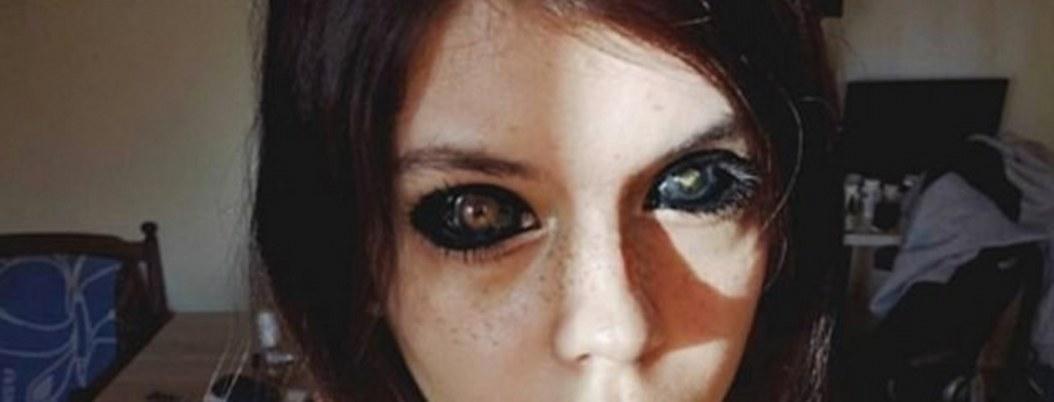 "Influencer se queda ciega por ""ocurrencia"" de tatuarse los ojos"