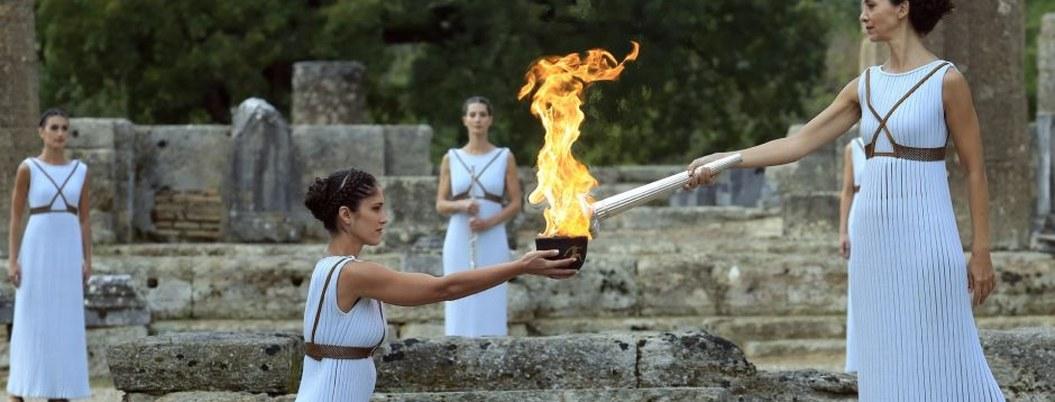 Coronavirus altera ceremonia de encendido de la llama olímpica