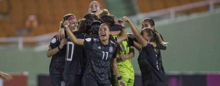 México vence a Haití en penales y califica a Mundial Femenil Sub 20