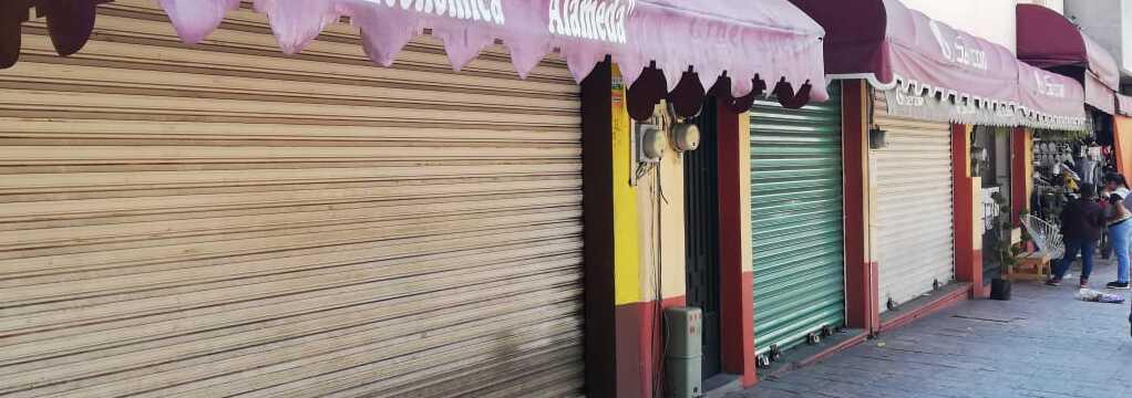 Inicia el cierre de negocios en Chilpancingo, a causa del Covid-19