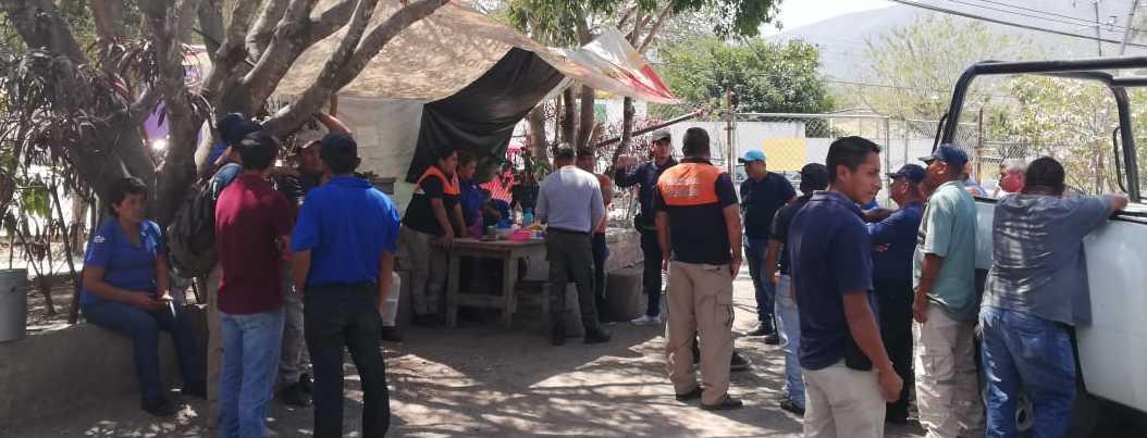 Paran labores de PC en Chilpancingo; exigen mejoras laborales