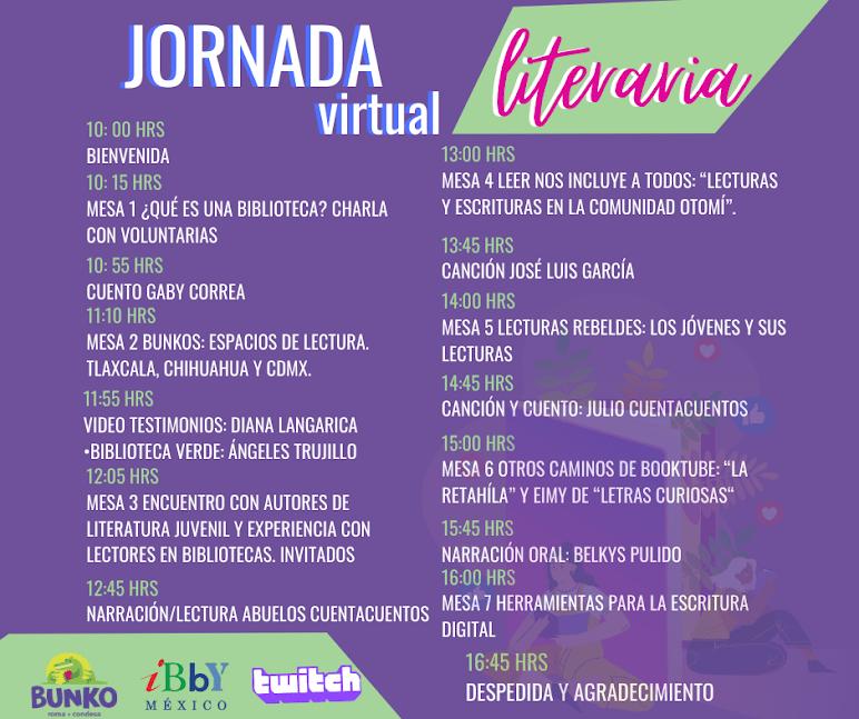 jornada literaria virtual