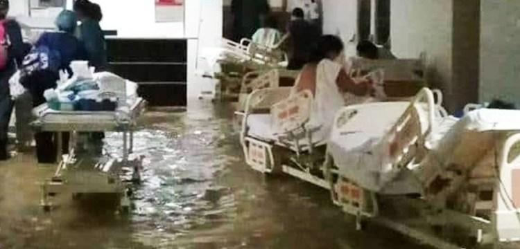 Lluvias y pandemia, Hanna deja caos en estados; inunda hospital en Tamaulipas 1