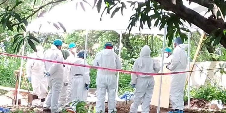 Restos humanos hallados en Morelos, son de entierro prehispánico 1