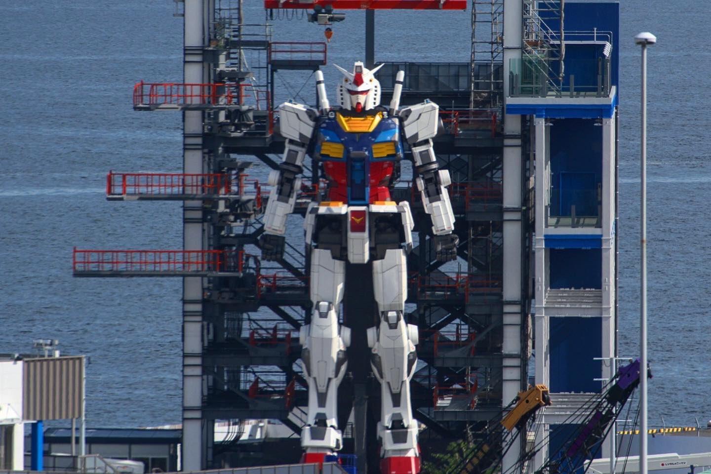 Gundam, da sus primeros pasos en Japón