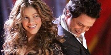 Shakira y Alejanro Sanz
