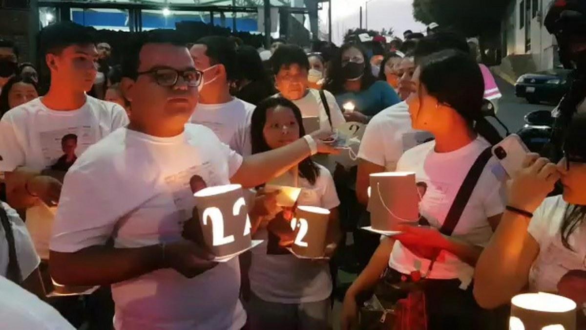 Cuernavaca: marchan familiares de jóvenes masacrados en un velorio 1