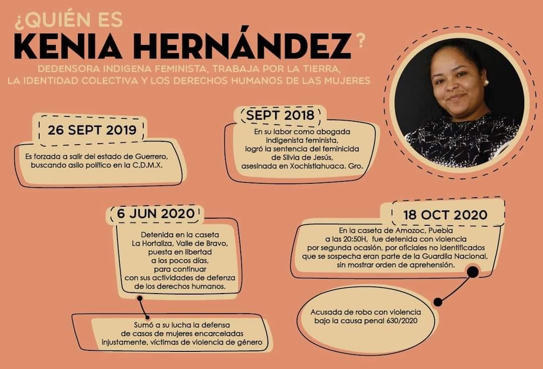 Trasladan a activista Kenia Hernández al penal de Las Cruces, en Acapulco 1