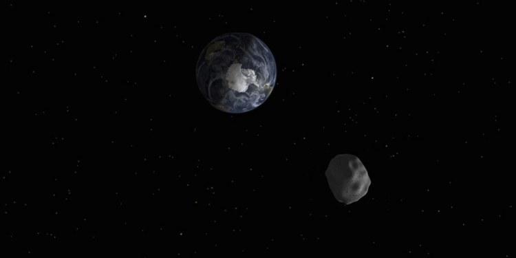El asteroide no provocará ningún daño a la Tierra. Foto: NASA.