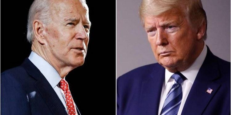 Trump vencería a Biden si se repitiera la eleccion presidencial: encuesta 1