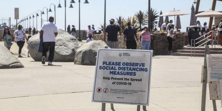 California, estado de EU más golpeado por el coronavirus 1