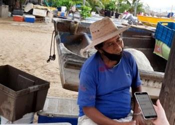 Calixto, pescador de Acapulco